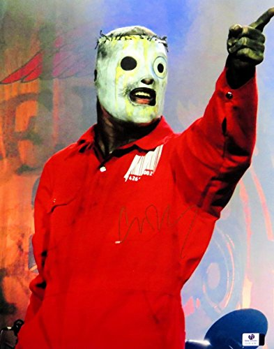 Corey Taylor Signed Autographed 11X14 Photo Slipknot in Costume -