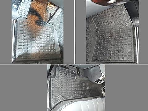 Custom Fit All Weather Rubber Floor Mats Liner 2003-2009 Range Rover L322 III - Range Rover Foot