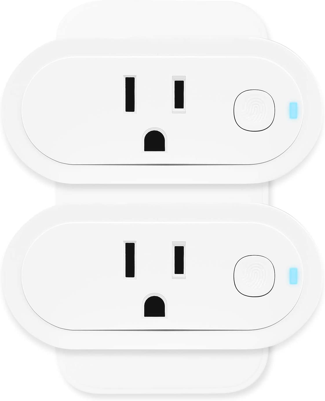 Smart Plugs Work with Alexa, Google Home and Siri, Sengled Mini Smart Outlet Hub Required with Timer Function, Remote Control Supports 2.4GHz & 5GHz Network, ETL FCC Certified, 2 Pack