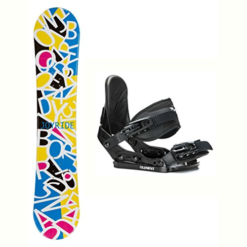 Ride Kids Snowboard Boots (Joyride Letters White Solstice Girls Snowboard and Binding Package - 135cm/Small)