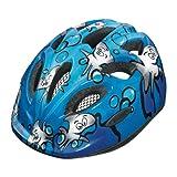 Abus Unisex - Kinder Fahrradhelm Smiley, sharky ocean, 45-50 cm, 48027-0