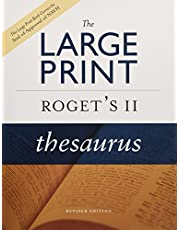The Large Print Roget's II Thesaurus, Revised Edition