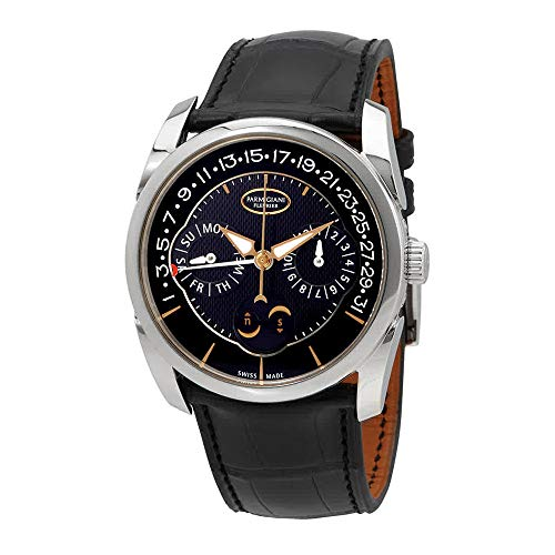 Parmigiani Fleurier Tonda Quator Black Dial Men's Watch PFC272-1200200-HA1441