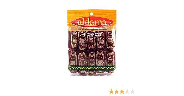 Amazon.com : Aldama Glorias (10.5 oz)10 count. Goat Milk Caramel Candy W/ Walnuts. : Grocery & Gourmet Food