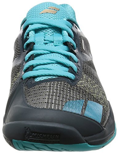 Babolat Women's Jet All Court W Tennis Shoe-10 B(M) US-Grey/Blue by Babolat