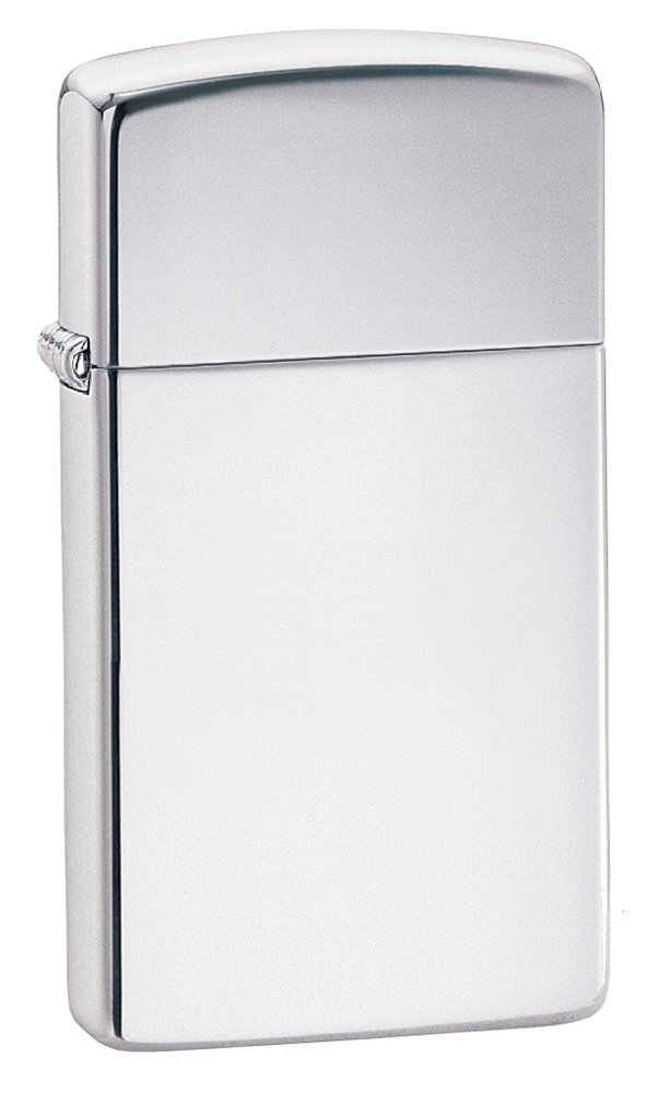 Zippo Slim High Polish Chrome Pocket Lighter by Zippo