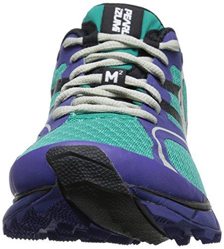 Pearl Izumi Mujeres Em Trail M2 V2 Running Dynasty Green / Deep Wisteria