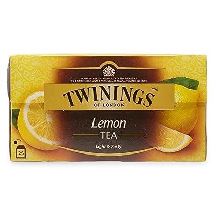 Twinings Schwarzer Tee Mit Zitrone Internationale Mischung 25