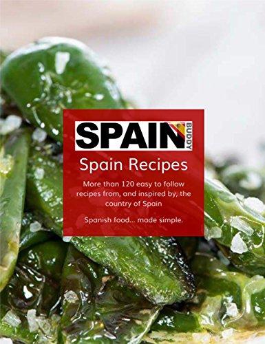 The Spain Buddy Easy Spanish Recipe Book by Elle Draper, Alan Gandy