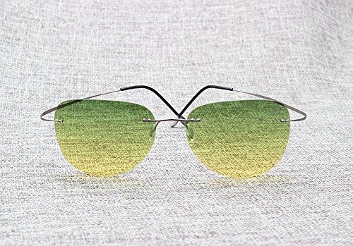 de de ultraligeras titanio 11 Aprigy Fashion hombre 3 Gafas sol polarizadas para wXwaqE7