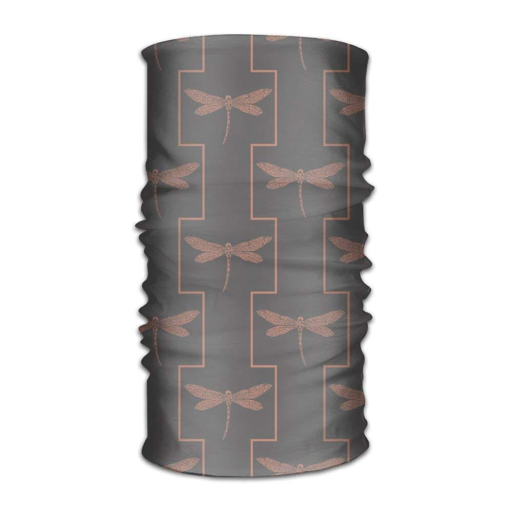 Headwear Headband Dragonfly Pattern Head Scarf Wrap ...