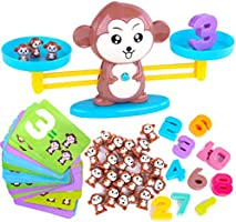 CoolToys Monkey Balance Cool Math Game for Girls & Boys | Fun, Educational Children's Gift & Kids Toy STEM Learning Ages...