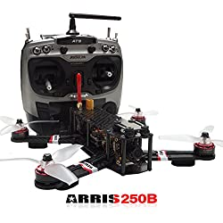 ARRIS X-Speed 250B V2 250 FPV Quadcopter Racing Drone RTF W/ Flycolor Raptor 390 Tower 4-in-1 (30A ESC + F3 + OSD + PDB)