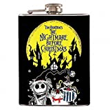 8oz - The Nightmare Before Christmas Version 1 Liquor Hip Flask Stainless Steel FK-0491