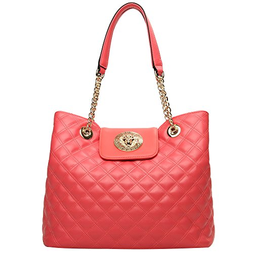 watermelon for Leather Genuine Purses Handbag BOSTANTEN Bags shoulder Red 9 Tote Crossbody Women g4CwxUq