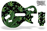 Guitar Hero 3 Faceplate Skin for Nintendo Wii - Weeds Black