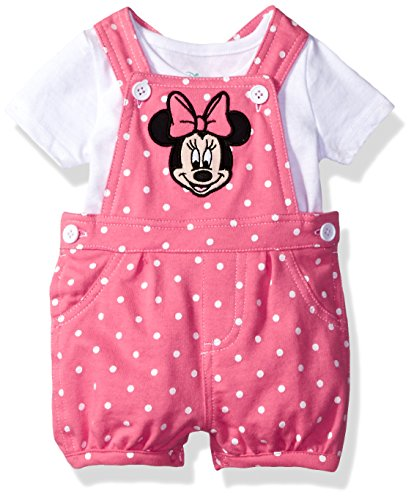 Disney Minnie 2 Piece Shortall T Shirt