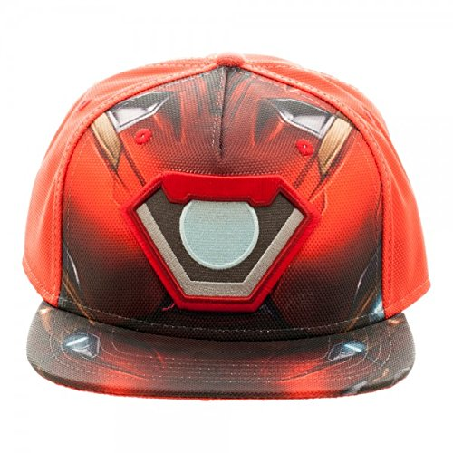 Captain America: Civil War Iron Man Suit Up Ballistic Snapback (Iron Man Hat compare prices)