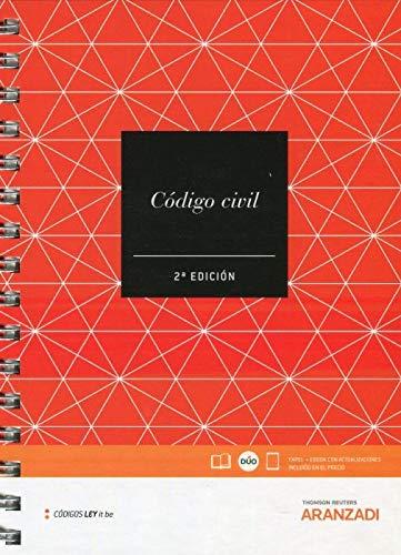 Código Civil (LeyItBe) (Papel + e-book) (Código Básico) por Departamento de Contenidos Aranzadi
