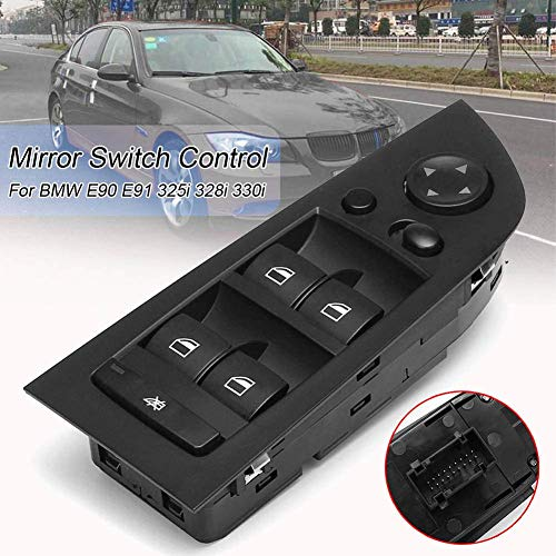 Bernard Bertha Car Accessories Black Panel Power Window Switch 61319217332 For BMW E90 318i 320i 325i 335i