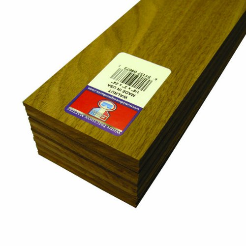 Midwest Products 4673 Project Woods Genuine American Black Walnut Sheets, 24 x 3 x 0.125 Inches