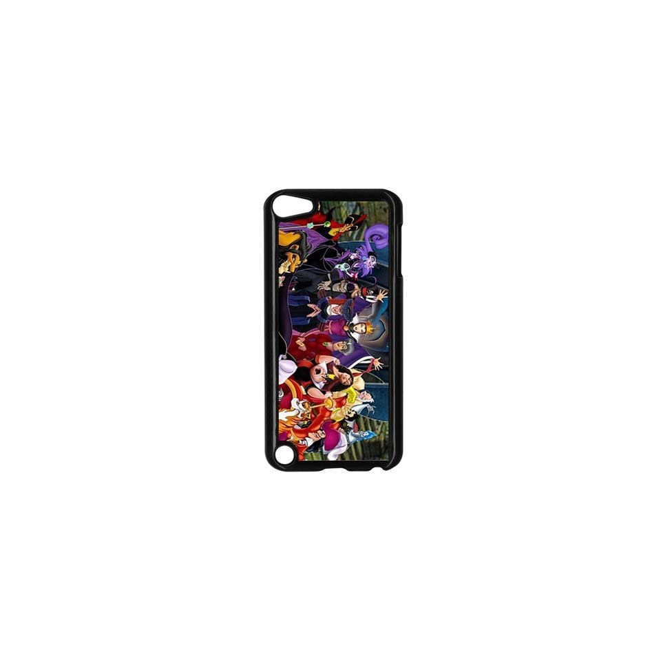 Villians Character Cartoon Cool iPod Touch 5 Case Black Cover Gift Idea Cell Phones & Accessories