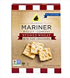 Mariner Biscuits Bite Size Stoned Wheat Crackers, 8.8 Ounce (Pack of 12)
