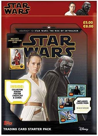 Topps Star Wars Viaje a: El Ascenso de Skywalker - Pack de Inicio (Archivador): Amazon.es: Juguetes y juegos