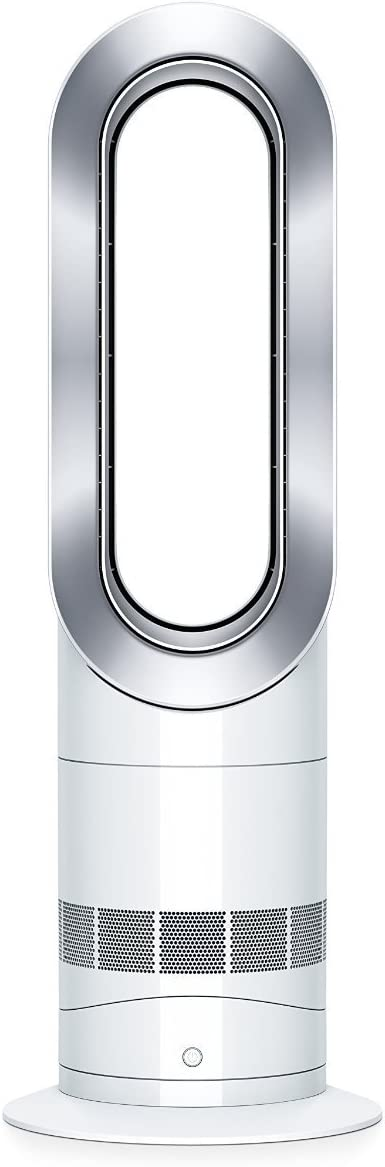 Dyson AM09 Hot + Cool Fan Heater - White/Silver by Dyson