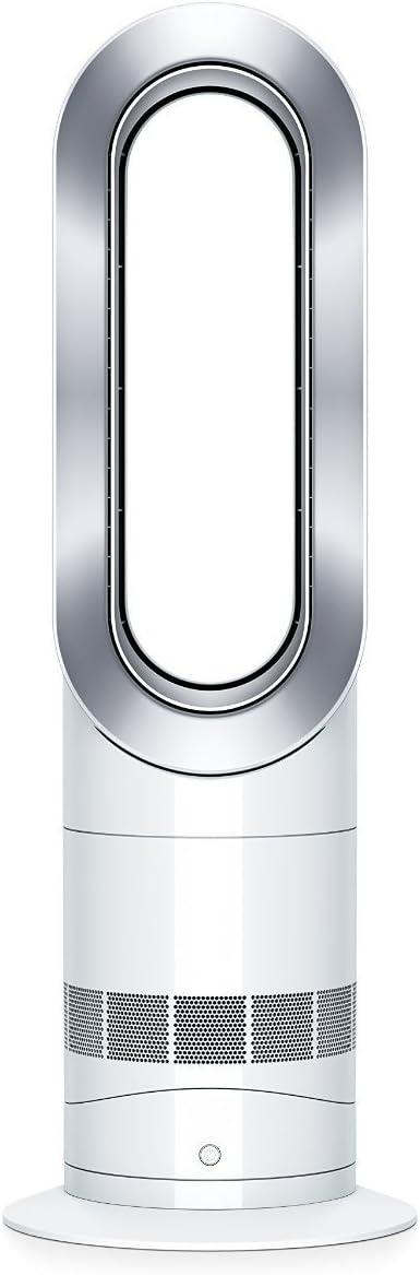 Dyson AM09 Hot + Cool Fan Heater - White/Silver by Dyson