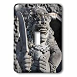 Danita Delimont - Statues - Stone statue at entrance of Tanah Lot. Bali island, Indonesia - Light Switch Covers - single toggle switch (lsp_225822_1)