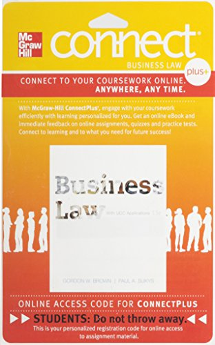 BUSINESS LAW W/UCC APPL.-CONNE Multimedia CD