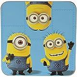 Minion Individual Coaster, Minion Trio