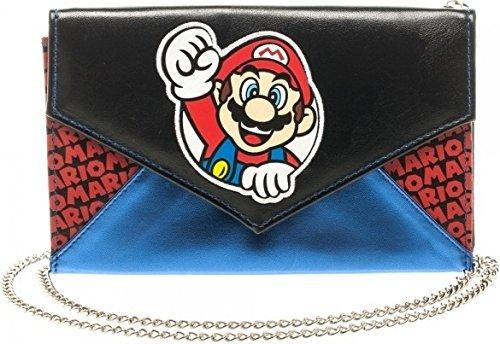 NINTENDO Super Mario Quilted Envelope Purse Wallet NEW