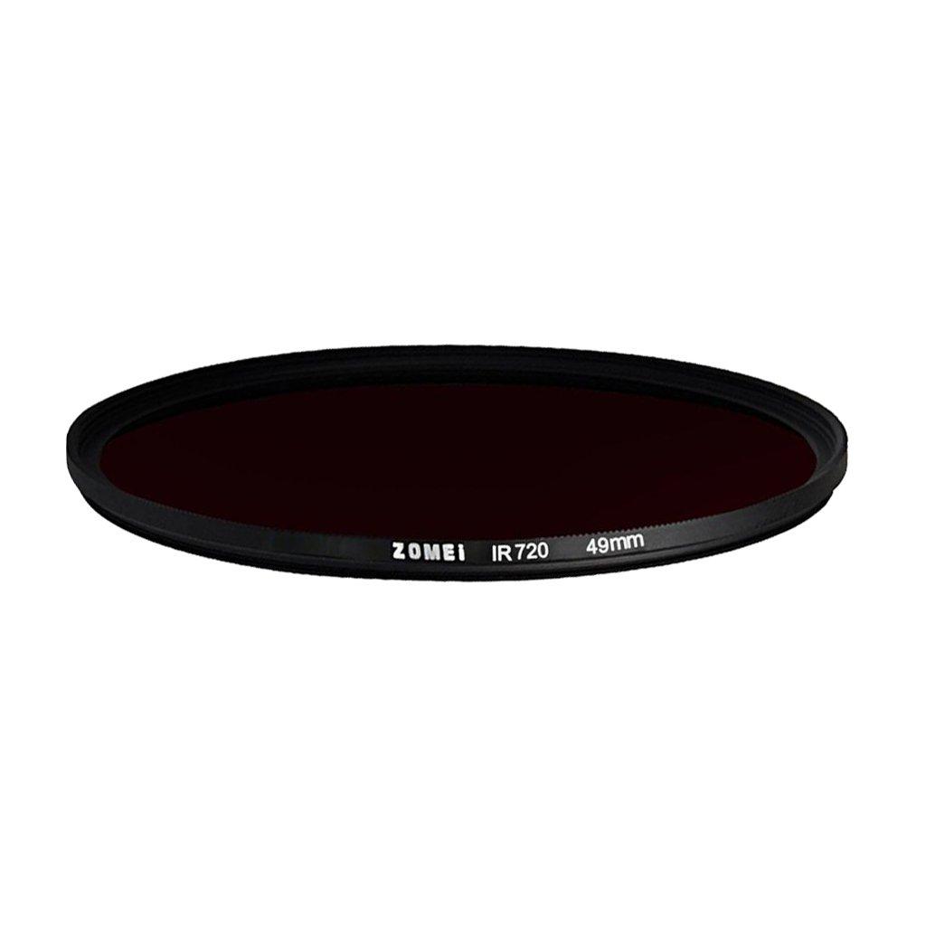77mm kokiya Zomei 720mm Filtro A Infrarossi in Vetro Ottico IR Circolare per Fotocamera Luce Debole