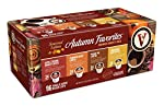 Victor Allen Coffee Autumn Favorites Single Serve K-cup, 96 Count (Compatible with 2.0 Keurig Brewers) by Victor Allen