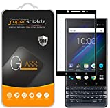 [2-Pack] Supershieldz for BlackBerry (KEY2 LE) Tempered Glass Screen Protector, [Full Screen Coverage] Anti-Scratch, Bubble Free, Lifetime Replacement (Black)