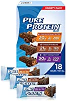 Pure Protein Bars, High Protein, Nutritious Snacks to Support Energy, Low Sugar, Gluten Free