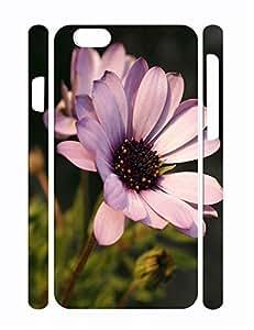 Custom Retro Floral Hard Plastic Iphone 6 Plus 5.5 Inch Cover Case