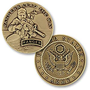 U.S. Army Rangers Lead The Way Challenge Coin from Armed Forces Depot