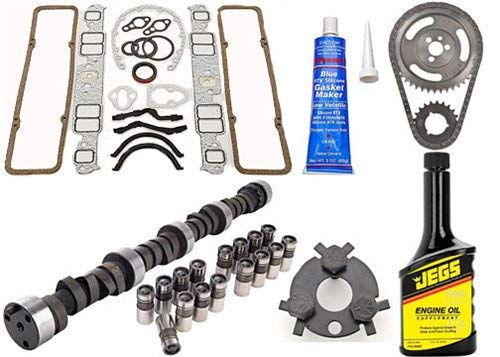 JEGS 200107K Camshaft and Lifter Install Kit 1957-1985 Chevy 262-400 Includes: H