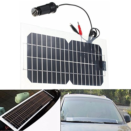 18v 5 5w Solar Charger Kit Sunpower Cell Ultra Thin