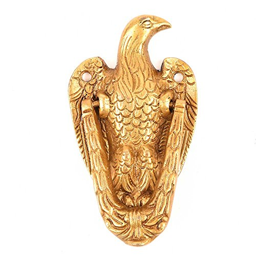 IndianShelf Handmade Vintage Brass Eagle Door Knocker-1 Piece(MDK-97)