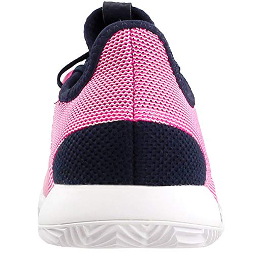 adidas Women's Adizero Defiant Bounce Tennis Shoe, Legend Ink/Shock Pink/White, 5.5 M US by adidas (Image #2)
