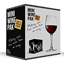 Mini Wine Pak - Cabernet Sauvignon - 1.2 lt - Start to finish in just 10 days. Making wine has never been so easy!