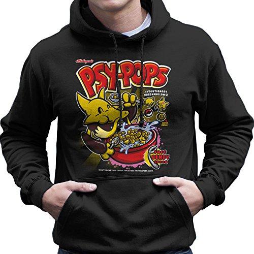 Alakazams-Psypops-Pokemon-Cereal-Mens-Hooded-Sweatshirt
