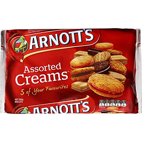Arnott's Assorted Cream Biscuits 500g Assorted Biscuits