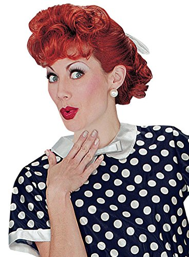 [Mememall Fashion Lucille Ball I Love Lucy Halloween Costume Wig] (Lucille Ball Costumes For Halloween)
