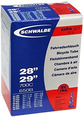 "1pack-4pack Schwalbe SV19A 28/"" 29/"" 700C-650B Presta Valve Inner Tire Road MTB"