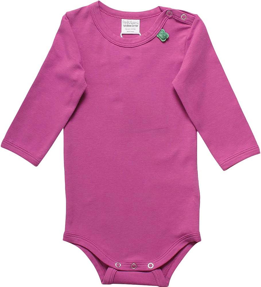 Freds World by Green Cotton Baby-M/ädchen Alfa Formender Body
